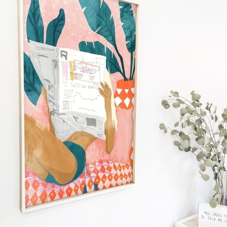 'Morning News' Art, Canvas, Met - 83oranges | ello
