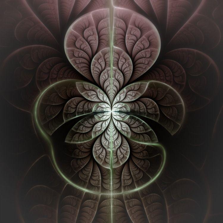Broken Leaf - fractal, fractalart - sya | ello