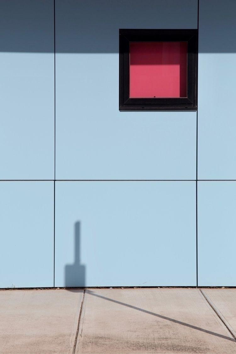 minimal, shadow, blue, square - jokalinowski_ | ello