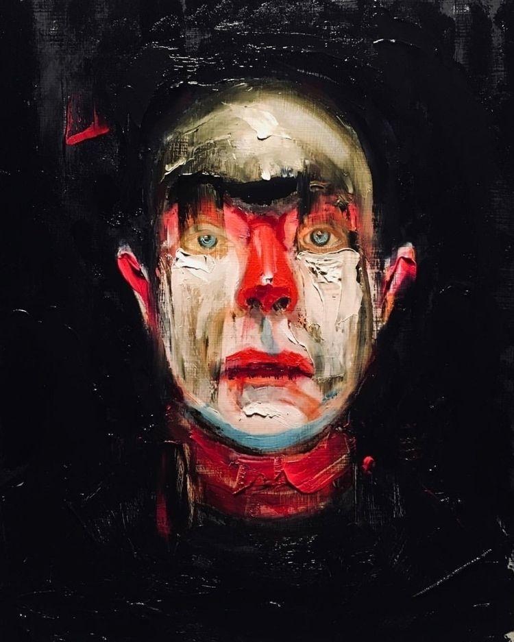 dark paintings john weldon then - neoncart | ello