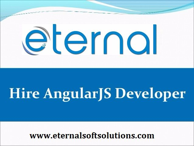Hire AngularJS developer   indi - eternalsoft   ello