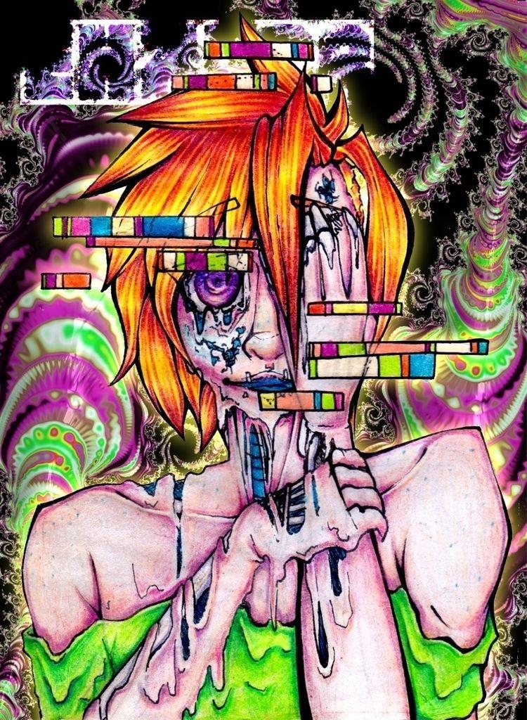 RoAdTrIp - psychedelic, neon, acid - ehxkor | ello