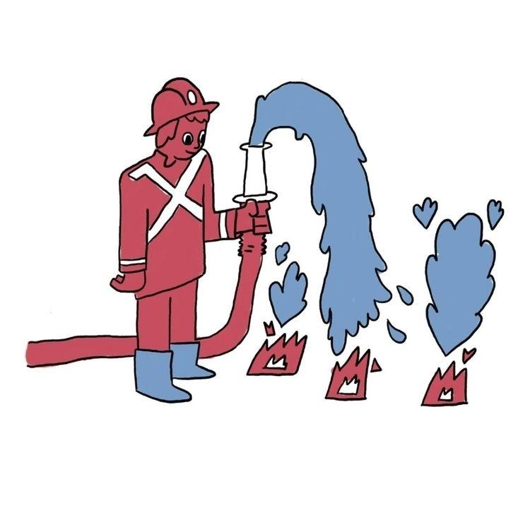 commission work - fire, water - sophiariviere | ello