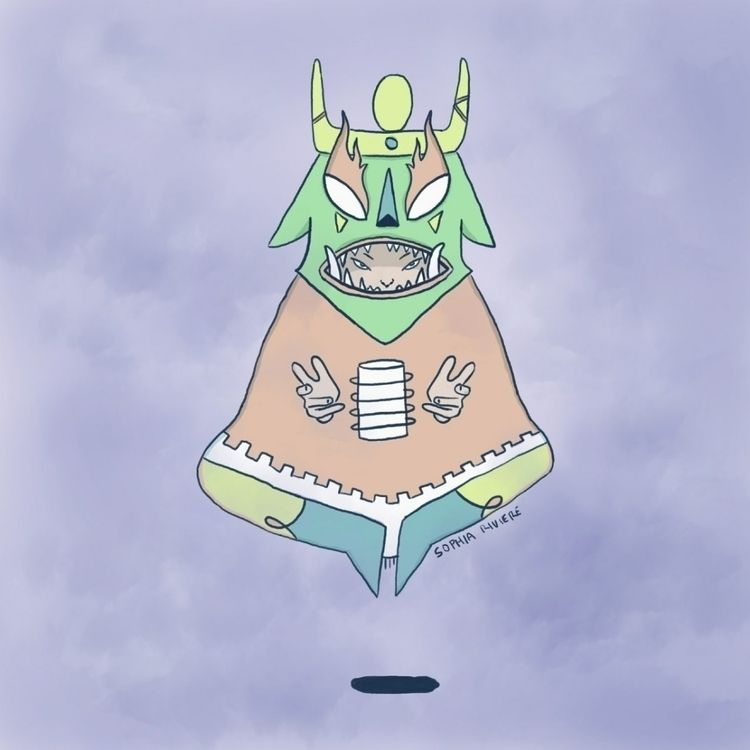illustration, digital, wacom - sophiariviere | ello