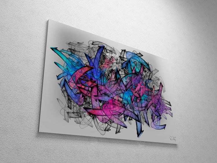 Tangled Color - moderngraffitiart - ovko   ello