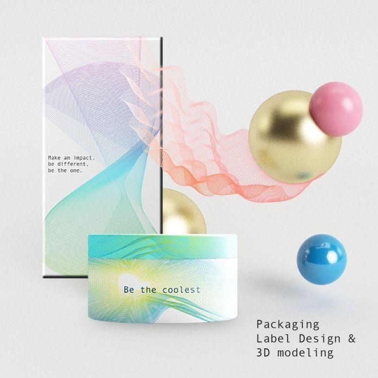 Packaging 3D - Label, Design, Product - verastudio | ello