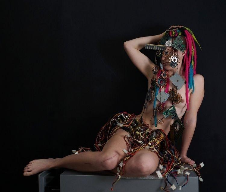 Data goddess cart 04519 dress c - frango_artist   ello