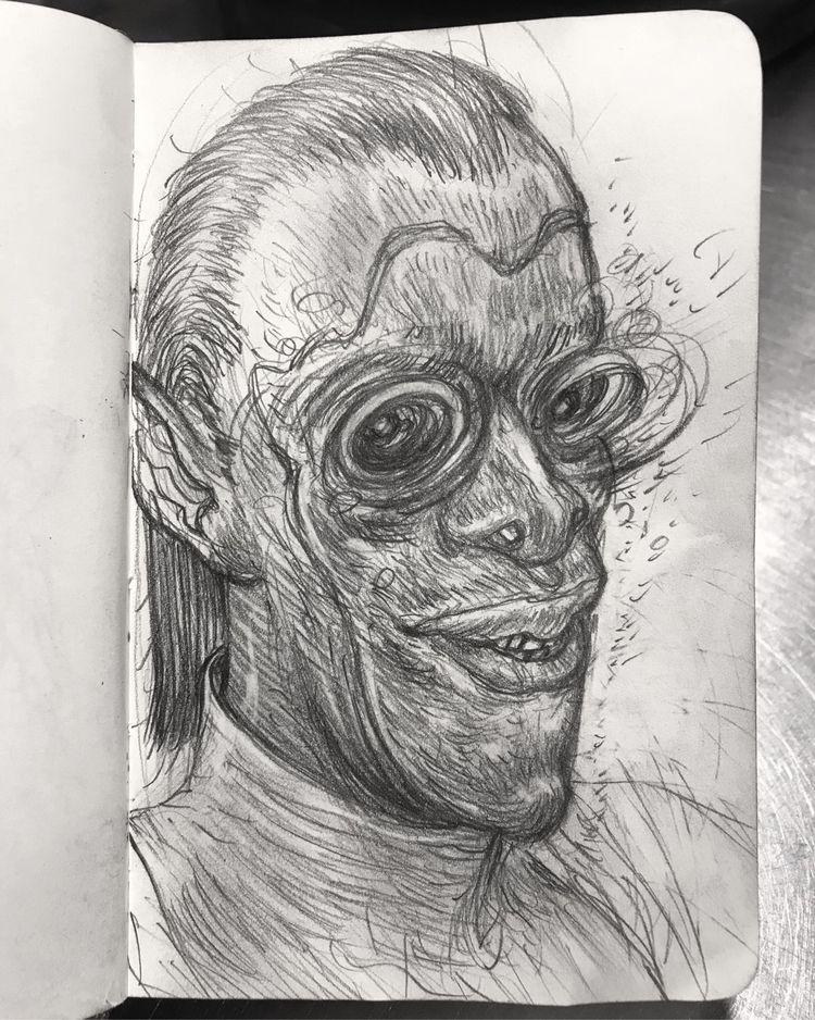 drawing, sketch - leestroyer | ello