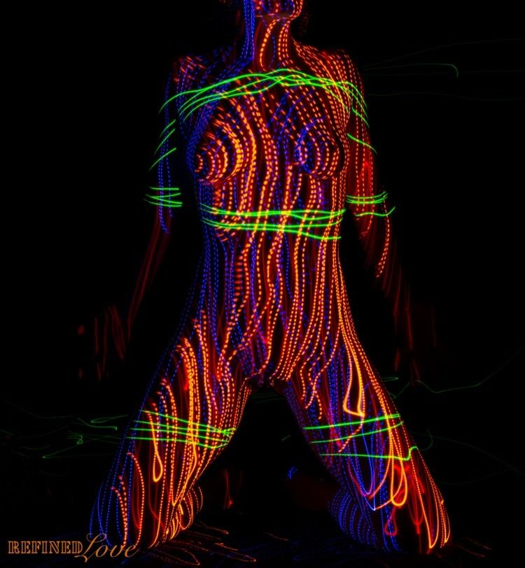 light bondage (2018 - NoFilter, lasers - refined-love | ello
