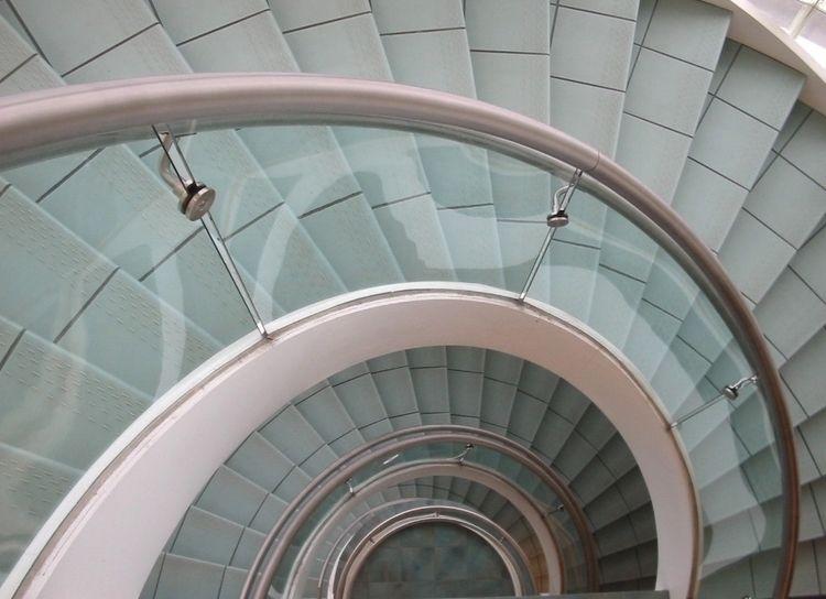 Spiral Staircase, Buder Library - ccruzme | ello
