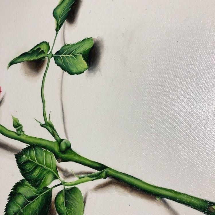 details 🧠 Instagram - acrylicpainting - bycadenj | ello