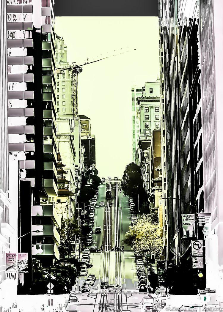 SF Streets - californiastreet, sf - zaqueeyn | ello