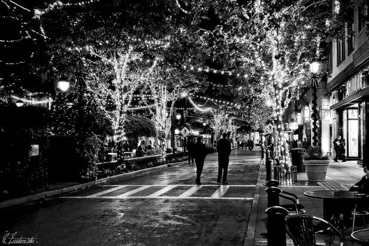 lit Happy Holidays - robzucho,, nightlife - abstractcolorism | ello