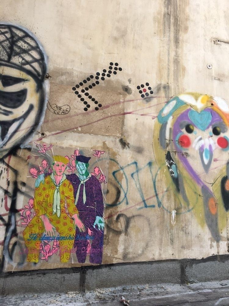 serie wheatpaste TLV. insta - streetart - birdyy | ello