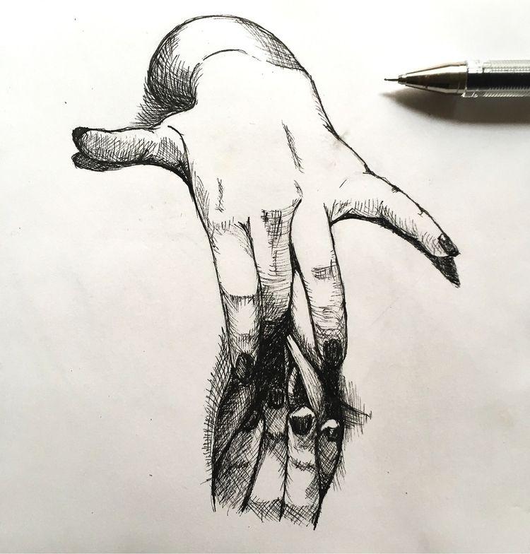 Pen drawing - eclecticmentalityphilosopher | ello