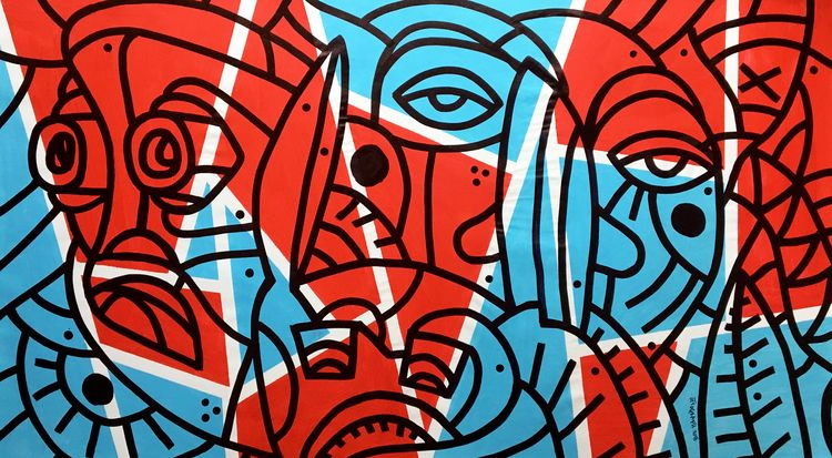 ottograph painting - acrylic in - ottograph | ello