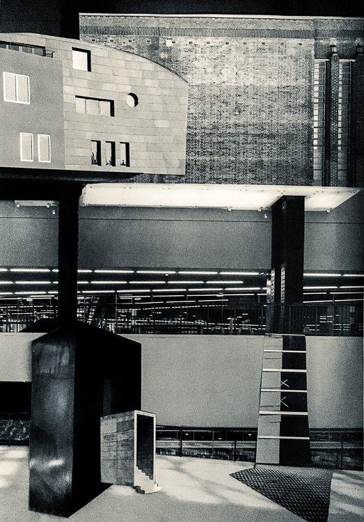 architecture, blackandwhite, collage - chris_schauer | ello