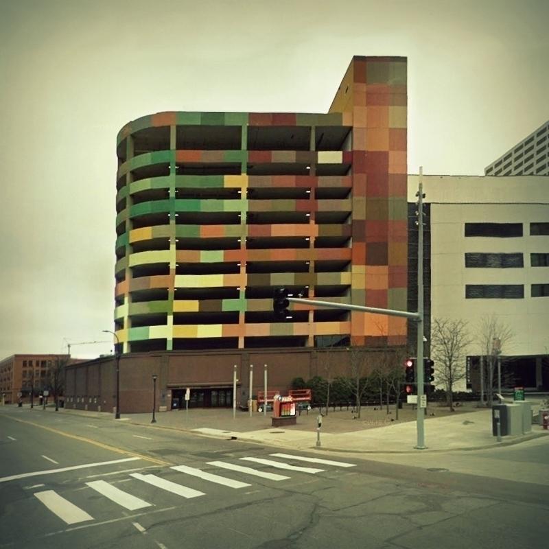 Parking Structure, Minneapolis - dispel | ello