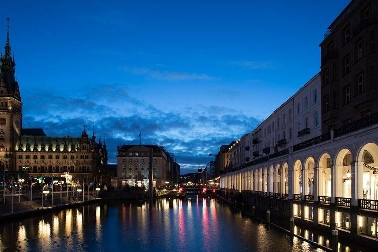 Hamburg night - photography, germany - anttitassberg | ello