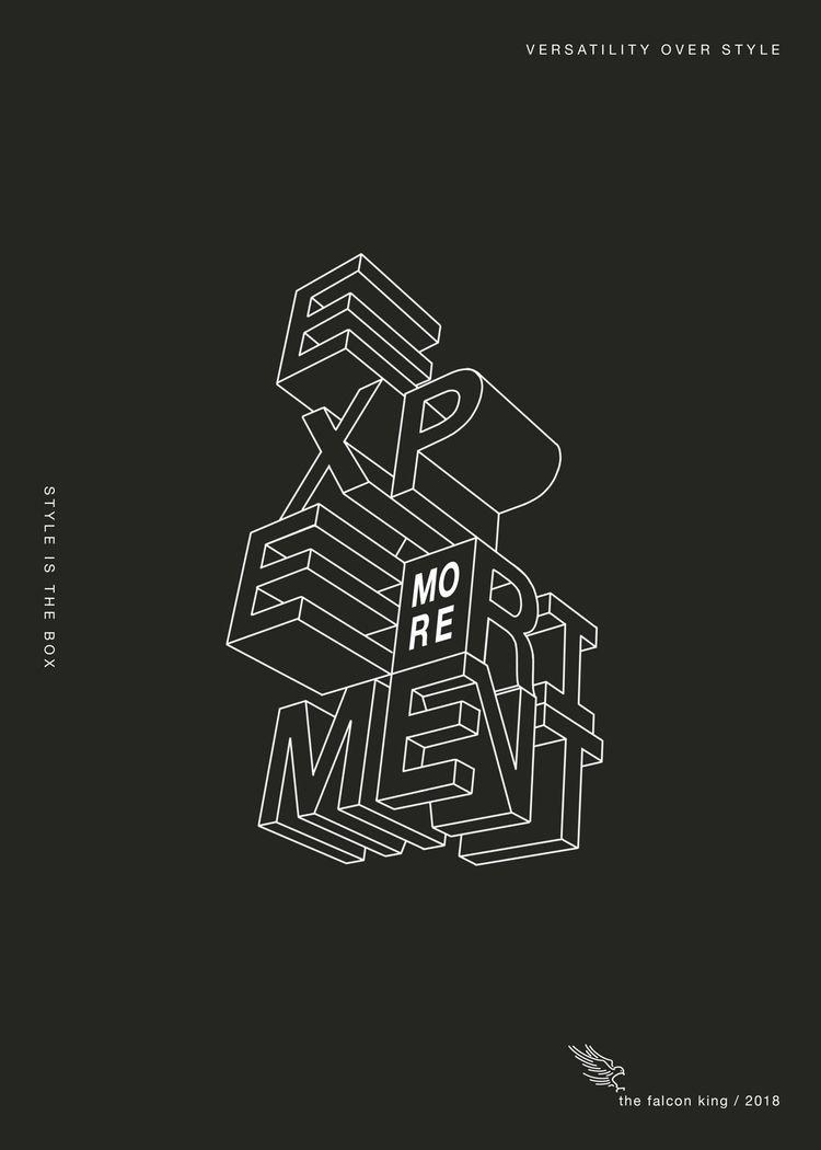 2019 goals - typography, graphicdesign - thefalconking   ello