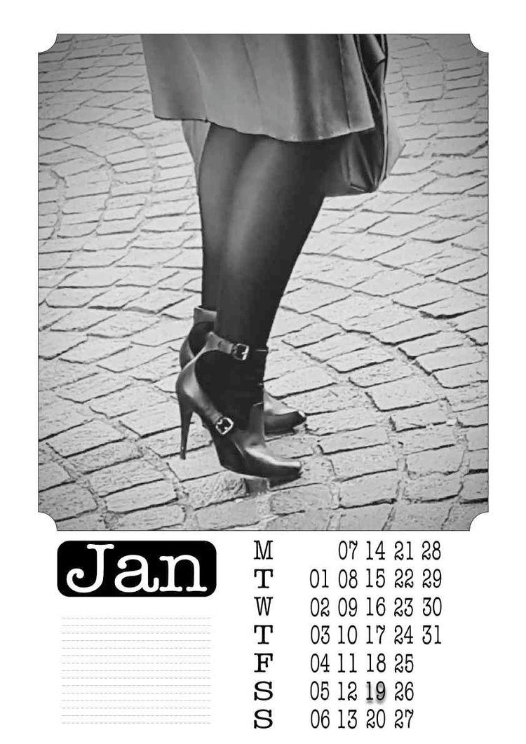 | January - Legs, Heels, Photography - ziolele | ello