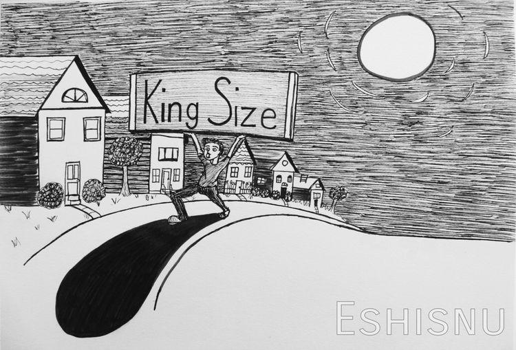 Inktober piece. Theme word: Hug - eshisnu | ello