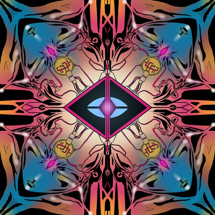 ongoing post illustration serie - lasergunfactory | ello