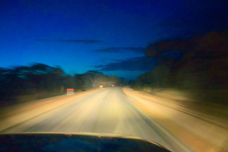 High Speed early - driving, outback - irwink | ello
