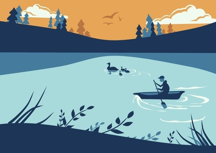 Boating Boy - ambernillustrations | ello