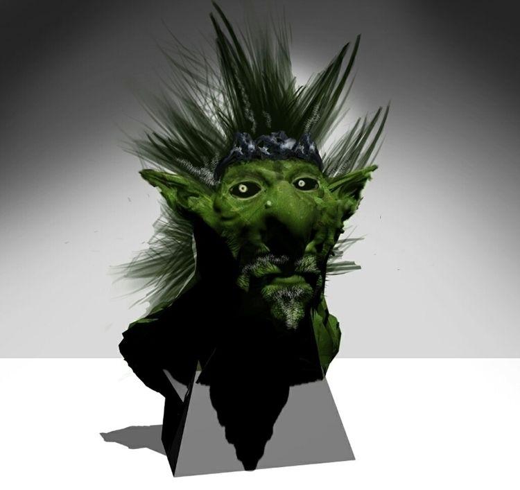 king goblins - blender3d, photoshop - viramzart | ello