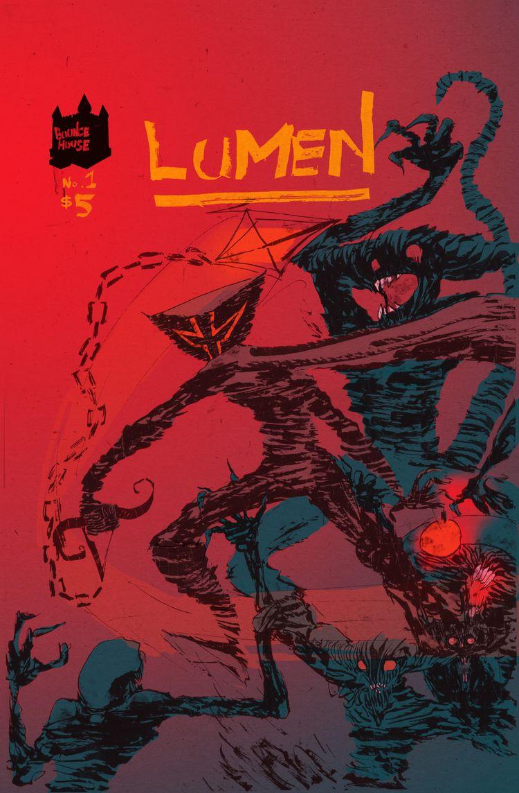 4 issues comics series Lumen sa - tonymcmillen | ello
