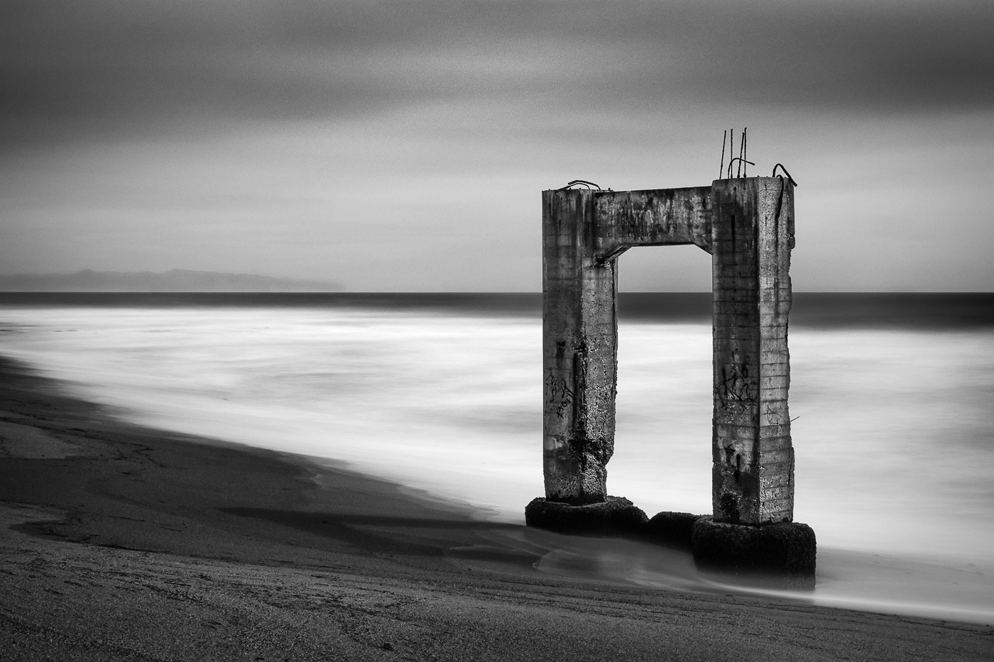 Pacific Portal. Abandoned pier  - stefanbaeurle | ello