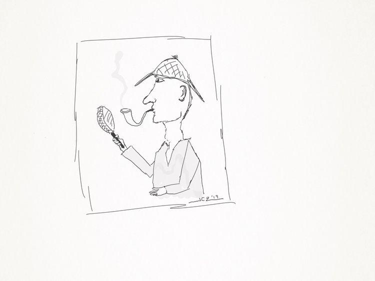 Clue' (2019) Quick doodle Bambo - leapingbluehare | ello