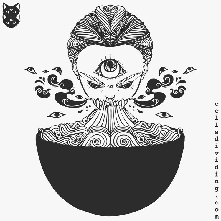 Line art latest illustration wo - cellsdividing | ello
