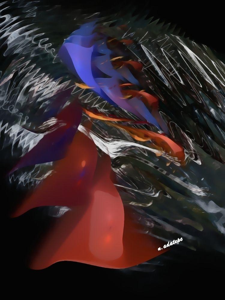 Untitled - 7 seas series. Digit - nadatepe | ello
