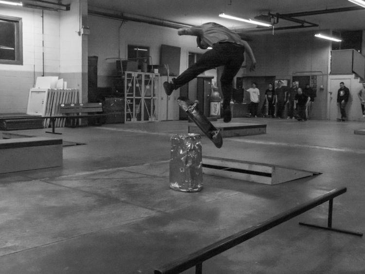 Indoor Skateboarding - skaters, skateboards - notnowimbusy | ello
