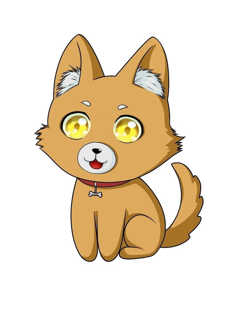 chibi dog. Btw find making kind - silverraven0 | ello