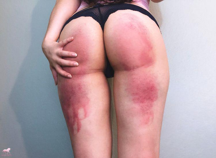 Making girl - spanking, bdsm, bruises - xoxobeth | ello