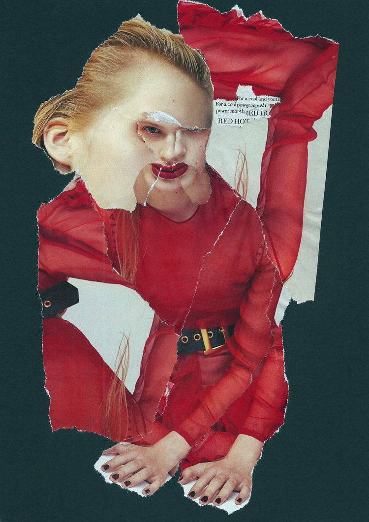 Red Hot - collage, dada, popart - graemejukes   ello