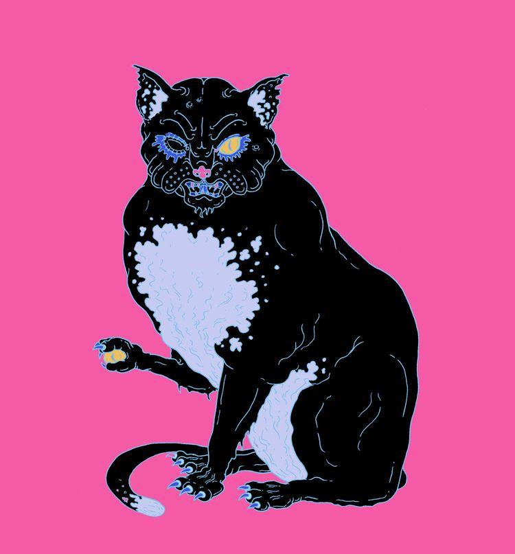 Black Cat - edgarallanpoe - _tenderhooks | ello