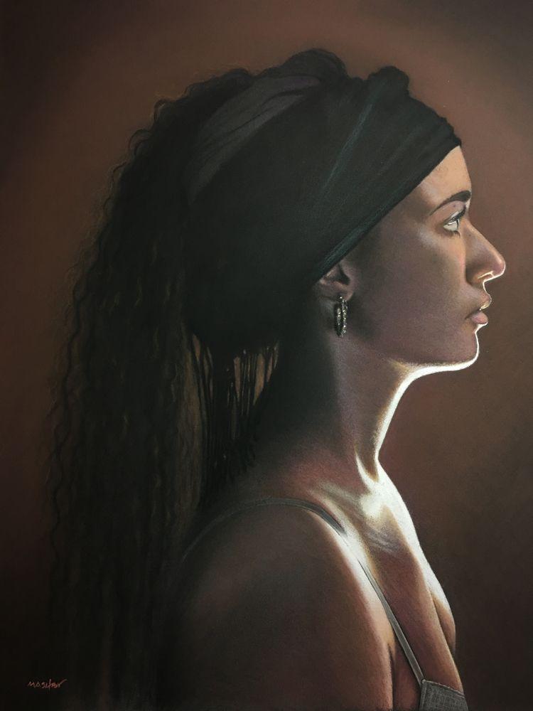 18 22 Pastel 2018 - fineart, art - micheleashby | ello