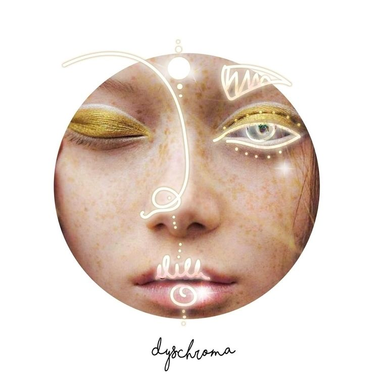 GOLD MOON • DYSCHROMA DRAW :sta - camellyadyschroma | ello