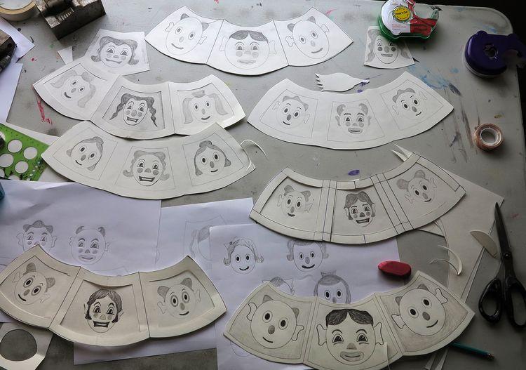 Sketches design painting - patrou | ello
