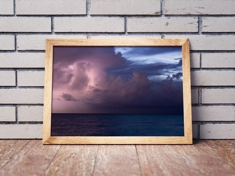 Seaside 15 • thunderstorm Medit - talpazfridman   ello