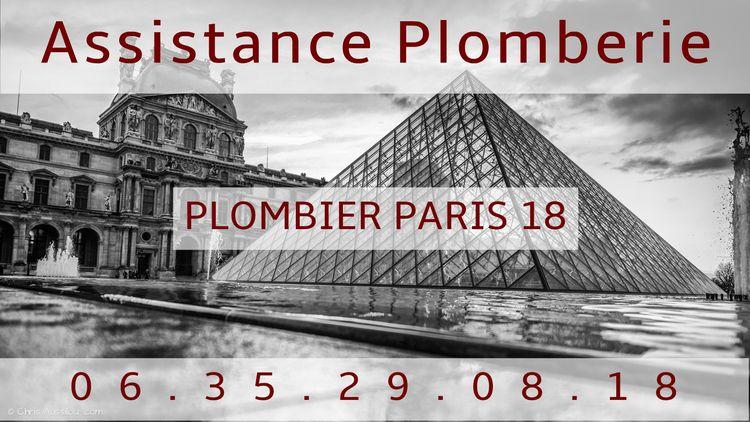 Plombier Paris 18 la qualité de - assistanceplomberie | ello