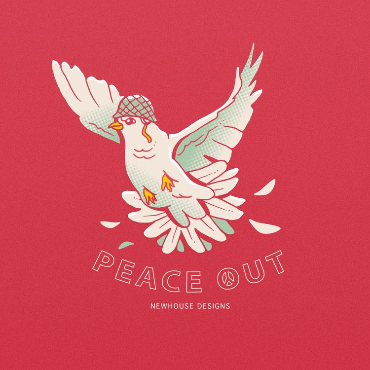 Peace illustration - sundaydoodle - jessienewhouse | ello