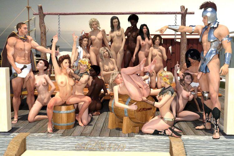 slaves, nude, girl, sex, slave - franklange | ello