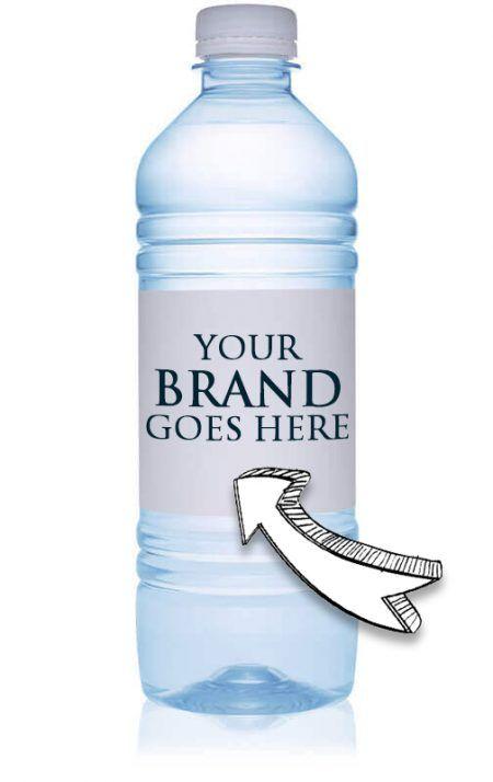 16.9 oz premium custom labeled  - customizedwater   ello
