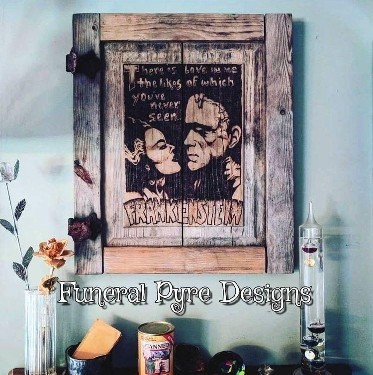 time Frankenstein Bride piece s - funeralpyredesigns | ello
