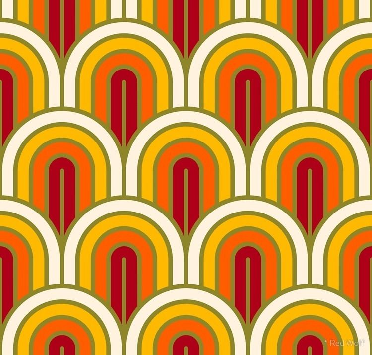 Geometric Pattern: Art Deco Arc - red_wolf | ello
